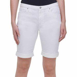 Ladies' Bermuda Short Woman's White Size 10
